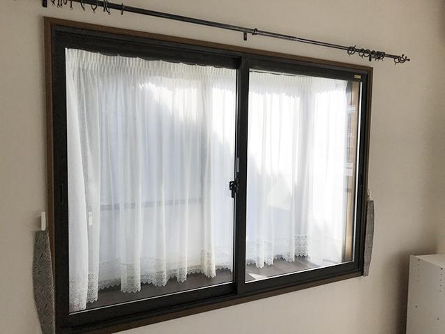 01施工前の腰窓