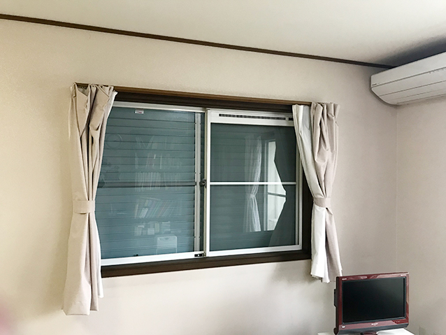 02施工前の腰窓