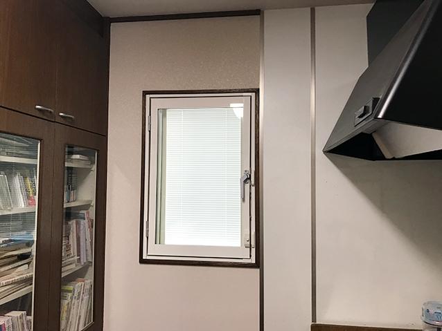 03内窓まどまど(開き窓)&防音合わせガラス10.8mm施工後