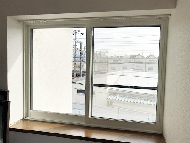 03内窓プラスト&防音合わせガラス施工後