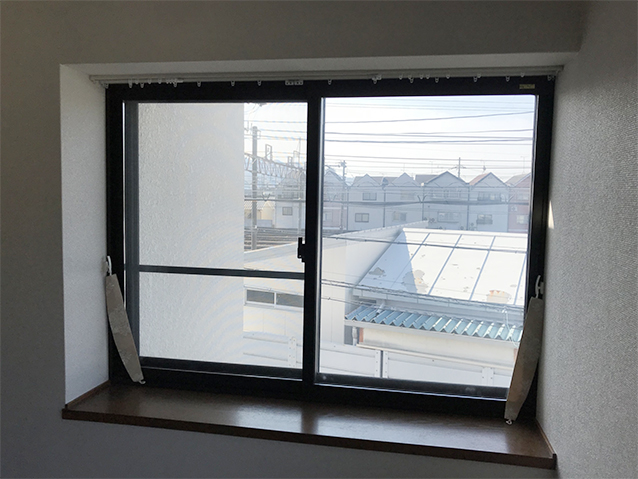 03施工前の腰窓