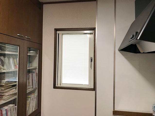 03施工前の開き窓