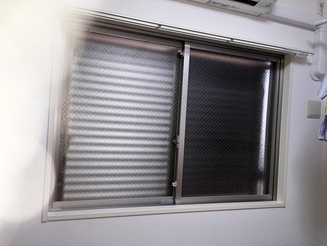 ③洋室腰窓施工前
