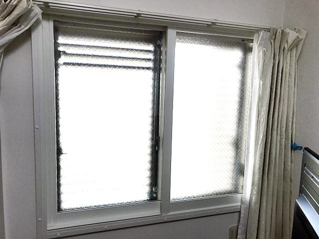内窓プラスト&防音合わせガラス6.8mm施工後