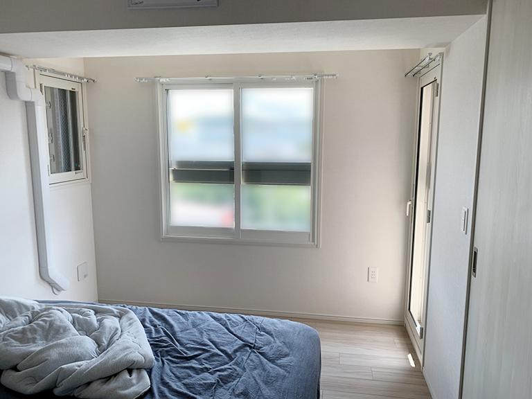 内窓プラスト&内窓インプラスページ&防音合わせガラス施工後3窓全景