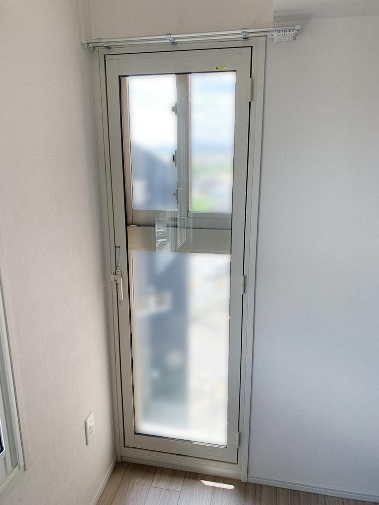 内窓インプラステラスドア&防音合わせガラス施工後