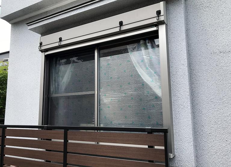 施工前の既存窓