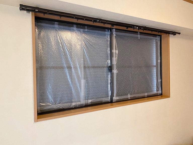 施工前の既存腰窓
