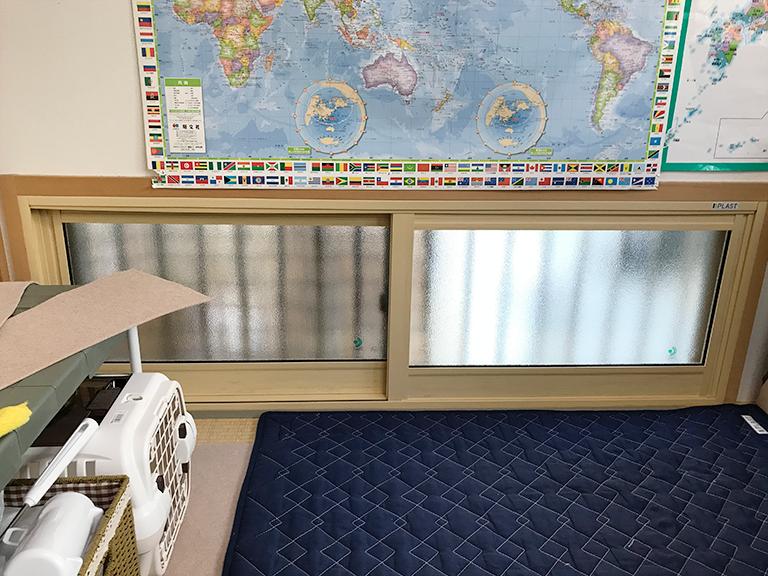 内窓プラスト&防音合わせガラス施工後(和室)
