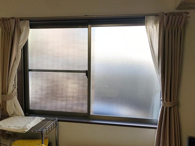 施工前の既存窓(リビング)