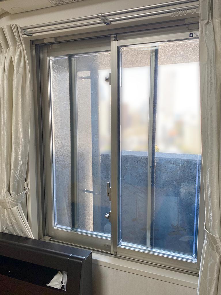 施工前の既存腰窓(寝室)