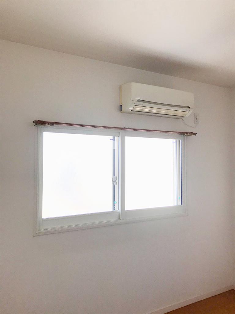 内窓プラスト&防音合わせガラス(2F洋室・引き違い)施工後