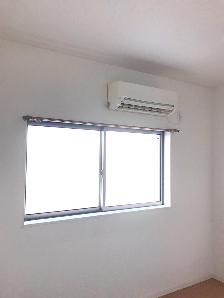 施工前の既存窓(2F洋室)