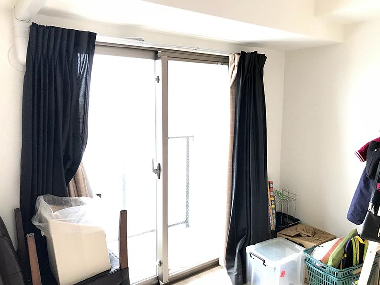 施工前の既存窓(洋室)