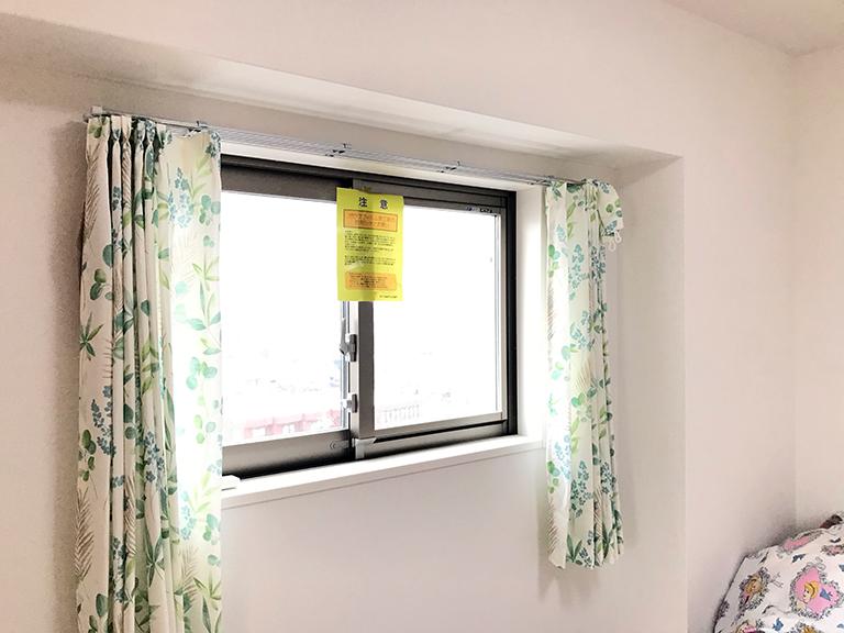 施工前の既存窓(子供部屋)