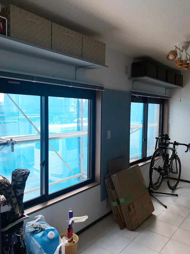 施工前の腰窓(1F元和室)