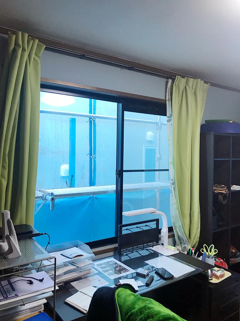 施工前の腰窓(1F書斎)
