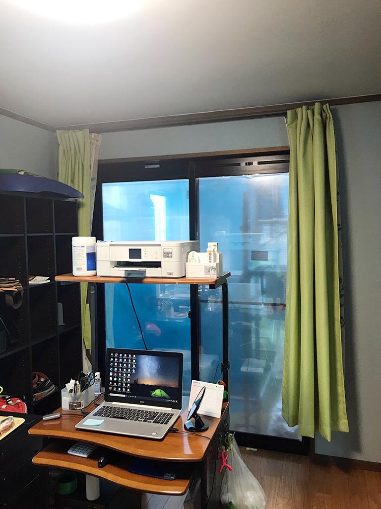 施工前の掃き出し窓(1F書斎)