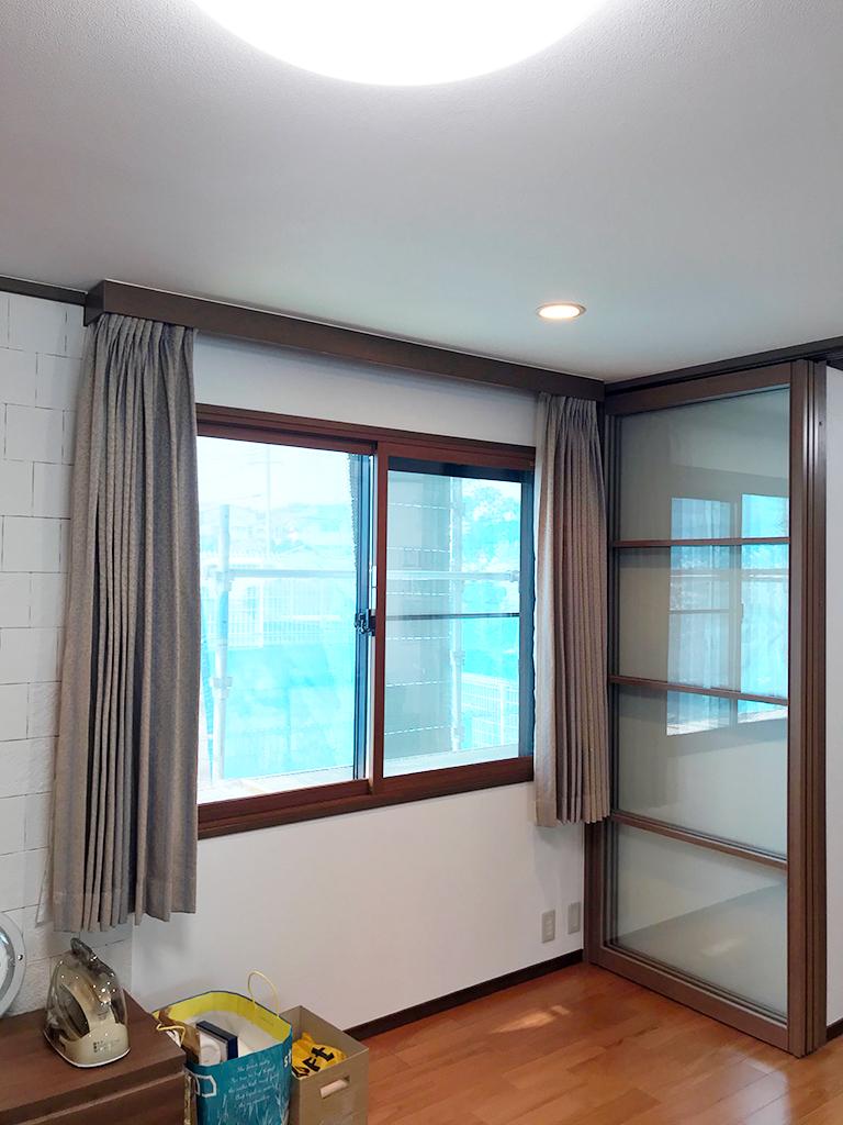 内窓インプラス&複層ガラス施工後