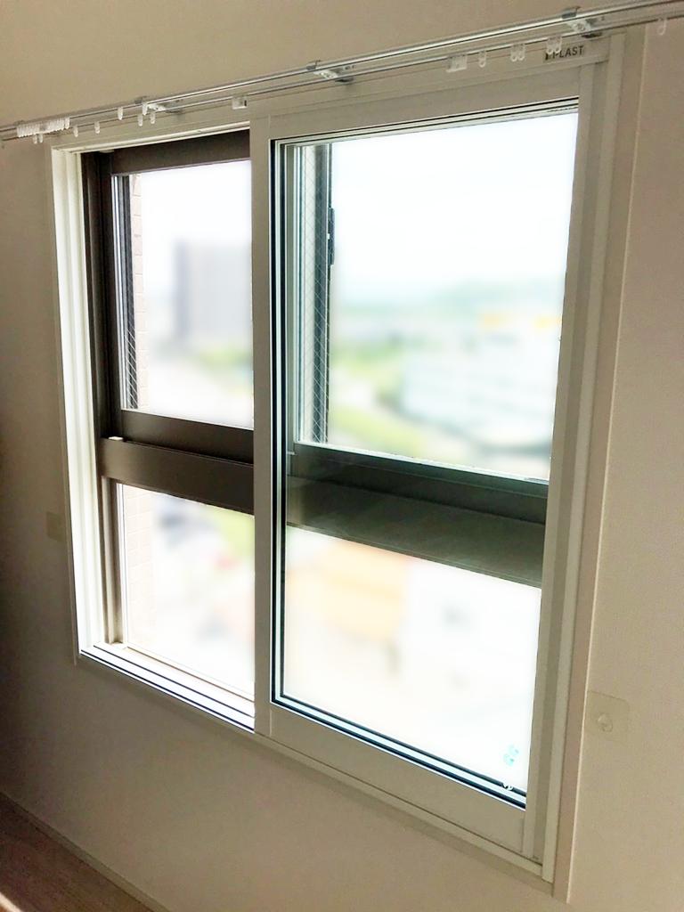 大信工業内窓プラスト&防音合わせガラス施工後