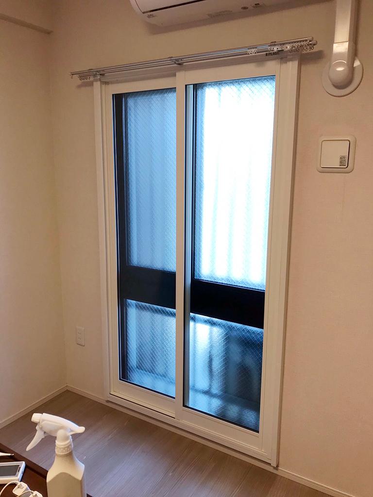 大信工業内窓プラスト&Low-E複層ガラス&ふかし枠施工後