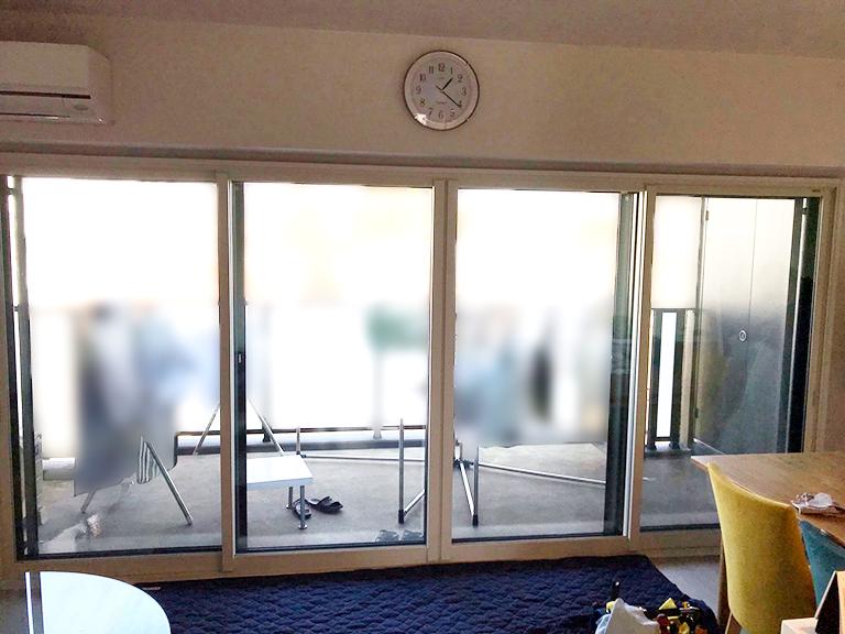 LIXIL内窓インプラス&Low-E複層ガラス&ふかし枠施工後