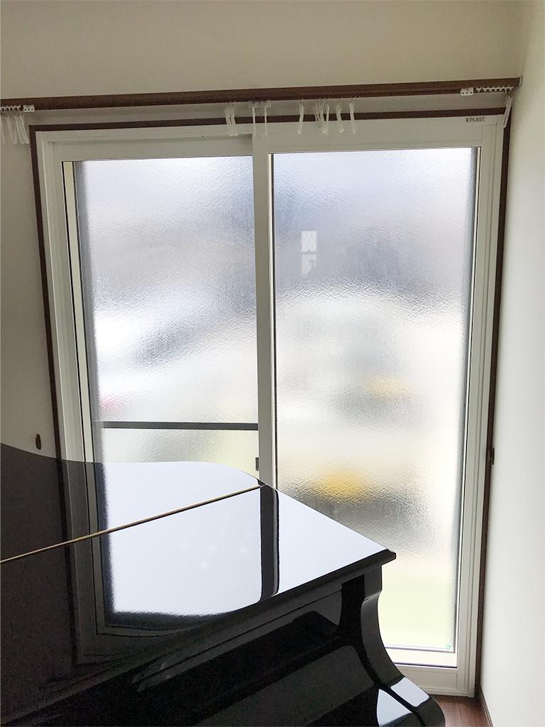 大信工業内窓プラスト&防音合わせガラス12.8mm施工後