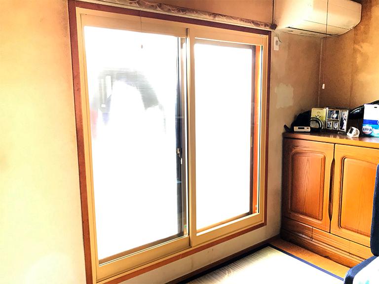 大信工業内窓プラスト&防音合わせガラス施工後(和室)