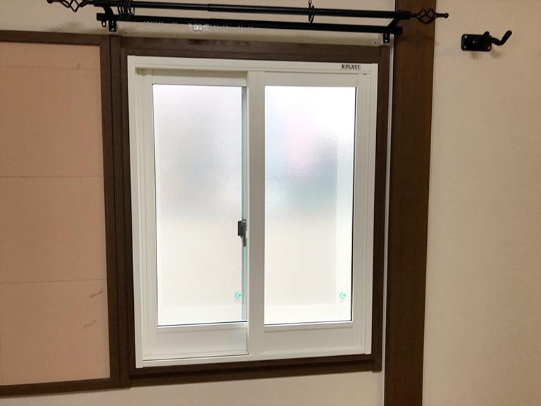 内窓プラスト&防音合わせガラス&窓枠施工後